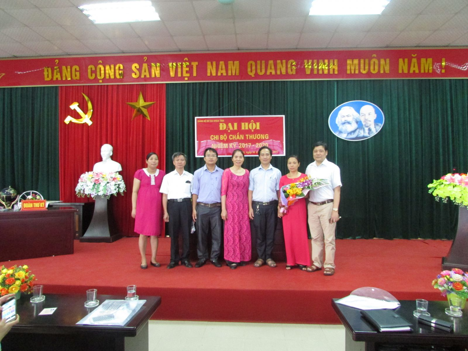 Một số hình ảnh Đại hội các chi bộ thuộc Đảng bộ Bệnh viện đa khoa tỉnh Hưng Yên