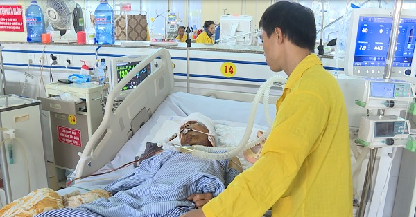 Bệnh viện Đa khoa Hưng Yên cấp cứu thành công 1 bệnh nhân bị vỡ hộp sọ